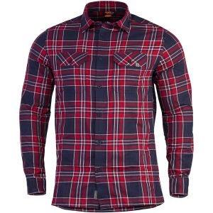 Pentagon camicia a maniche lunghe Drifter in flanella Red Checks