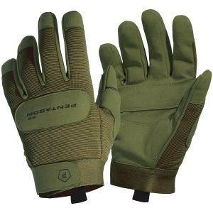 Pentagon guanti Duty Mechanic in verde oliva