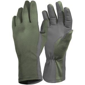 Pentagon guanti lunghi Pilot in verde oliva