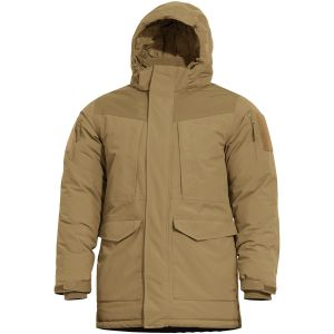 Pentagon parka H.C.P. in Coyote