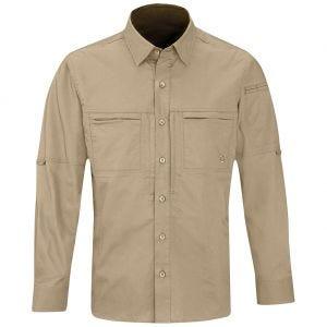 Propper camicia da uomo HLX a maniche lunghe in Khaki