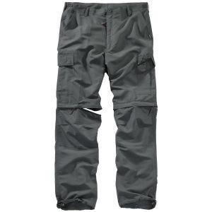 Surplus pantaloni outdoor ad asciugatura rapida in Anthracite