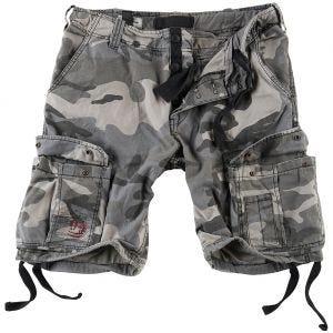 Surplus shorts vintage effetto slavato Airborne in Night Camo