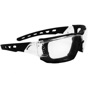 Swiss Eye occhiali da sole Net con montatura trasparente/nera e lenti trasparenti