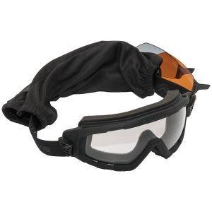 Swiss Eye occhiali G-Tac - lenti fumé + arancioni + trasparenti / montatura in gomma nero