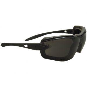 Swiss Eye occhiali da sole Detection - lenti fumo + trasparenti / montatura in gomma nera