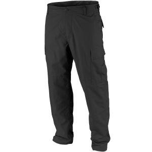 Teesar pantaloni BDU in ripstop in nero