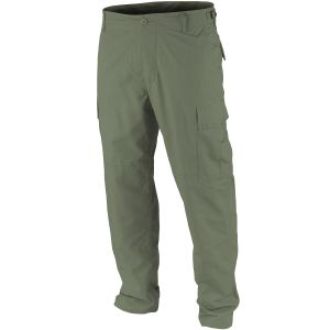 Teesar pantaloni BDU in ripstop prelavato in verde oliva