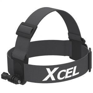 Xcel fascia per montaggio su testa in nero