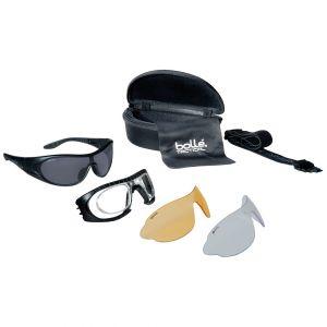 Bollé occhiali balistici Raider - lente chiara + scura + gialla / montatura nera