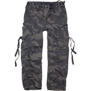 Brandit pantaloni M-65 Vintage in Dark Camo