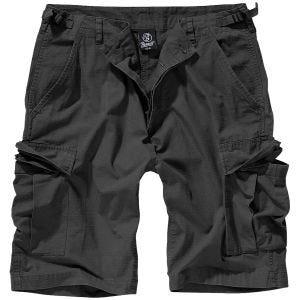 Brandit pantaloni corti BDU in Nero