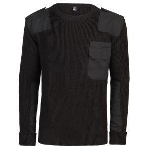 Brandit pullover BW in nero