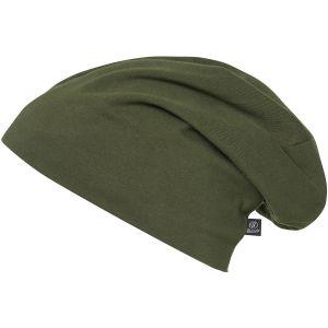 Brandit cappello in jersey monocolore in verde oliva