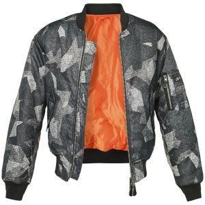 Brandit giacca mimetica MA1 in Night Camo Digital