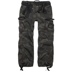 Brandit pantaloni Royal Vintage in Dark Camo