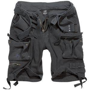 Brandit shorts Savage Vintage in nero