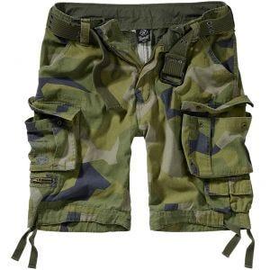 Brandit shorts Savage Vintage in Swedish Camo M90