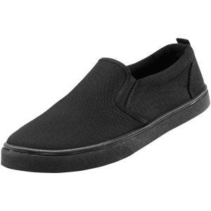 Brandit scarpe sneaker Southampton senza lacci in nero