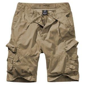 Brandit pantaloncini Ty in Camel