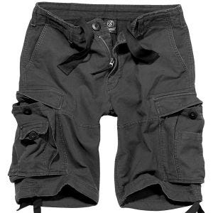 Brandit shorts Vintage Classic in nero