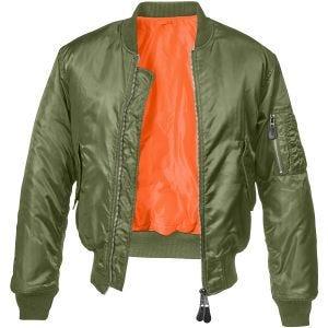 Brandit giacca MA1 in verde oliva