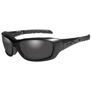 Wiley X occhiali WX Gravity con lenti fumé grigie e struttura in nero OPS opaco
