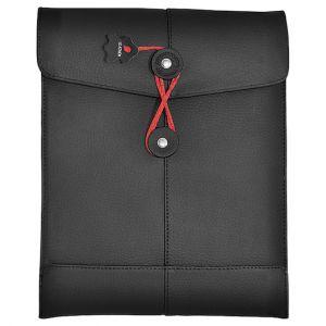 Civilian custodia in pelle PadManila per iPad in nero