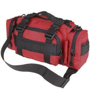 Condor deployment bag in stile modulare in rosso