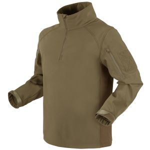 Condor Patrol 1/4 Zip Softshell Jacket Tan