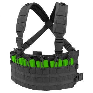 Condor chest rig da assalto rapido in nero