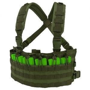 Condor chest rig da assalto rapido in Olive Drab