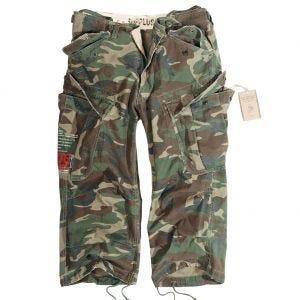 Surplus shorts Engineer Vintage 3/4 in Woodland