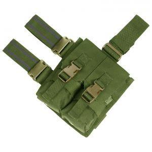 Flyye doppio portacaricatore cosciale M4/M16 in Olive Drab