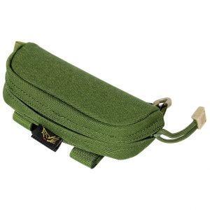 Flyye custodia per occhiali in verde oliva