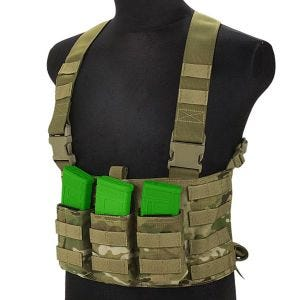 Flyye Chest Rig LAW ENF in MultiCam