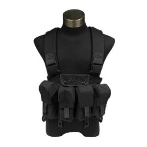 Flyye Chest Vest tattico LBT AK in nero