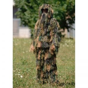 Mil-Tec ghillie mimetica 3 pezzi in Woodland