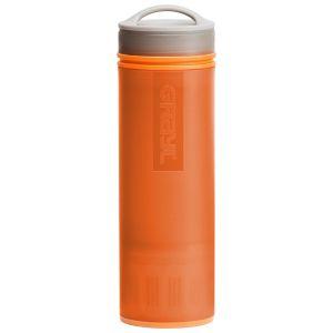 GRAYL bottiglia ultraleggera per purificare acqua + filtro in arancione