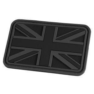 Hazard 4 patch Union Jack 3D in nero
