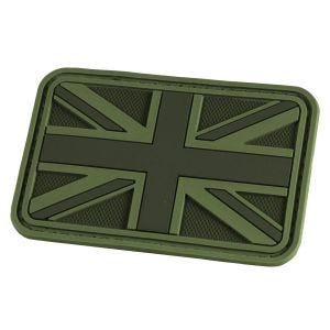 Hazard 4 patch Union Jack 3D in OD Green