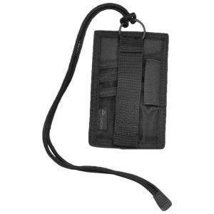 Hazard 4 custodia per documenti, mostrine e patch Badger in nero