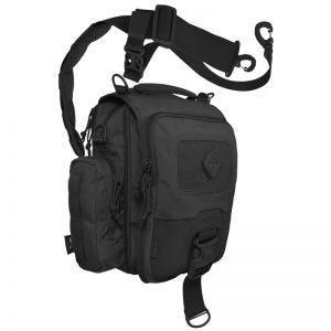 Hazard 4 tracolla mini-messenger bag Kato per tablet o netbook in nero