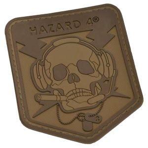 Hazard 4 patch con teschio Operator Skull 3D in Coyote
