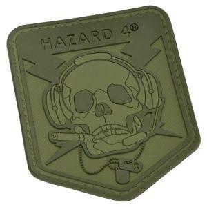 Hazard 4 patch con teschio Operator Skull 3D in OD Green