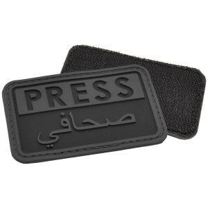 Hazard 4 patch Press / Arabic Reporters 3D in nero