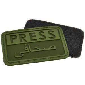 Hazard 4 patch Press / Arabic Reporters 3D in OD Green
