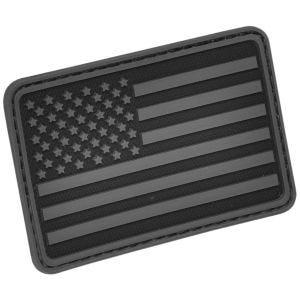 Hazard 4 patch per manica sinistra con bandiera USA in nero