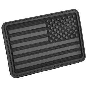 Hazard 4 patch per manica destra con bandiera USA in nero