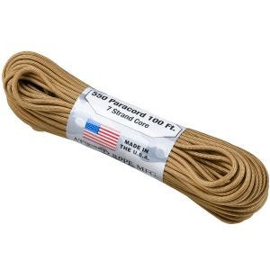 Atwood corda 550 Lbs. Paracord in Coyote